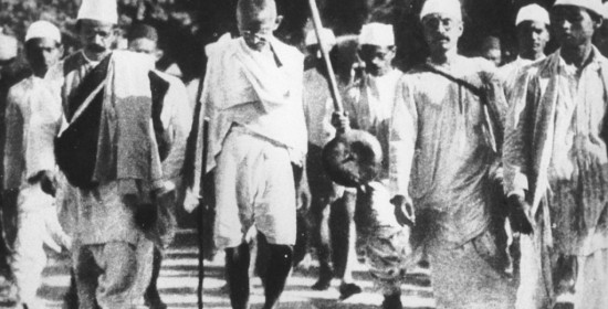 Gandhi padyatra