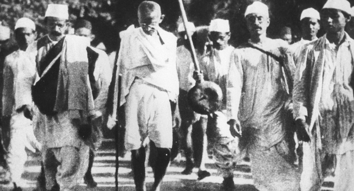 Gandhiji used padayatra as a means to spread the message of equality