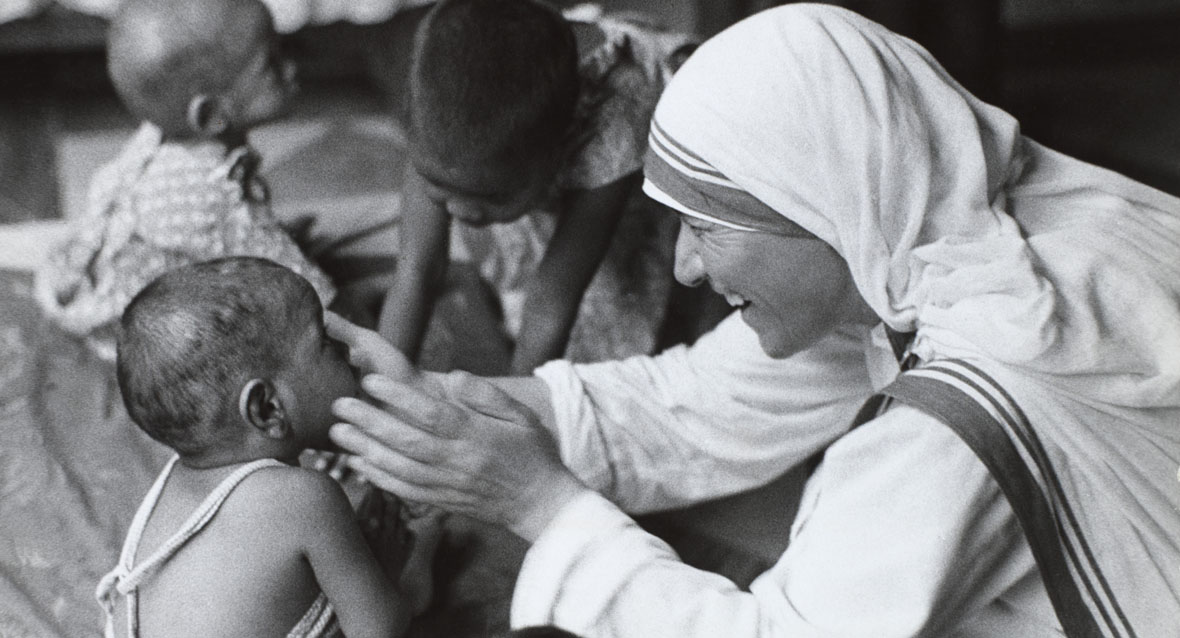 Mother Teresa exemplified goodness