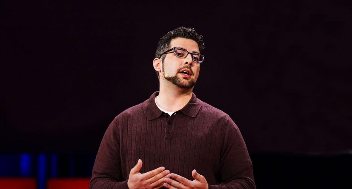 Zak Ebrahim at the TED Talk