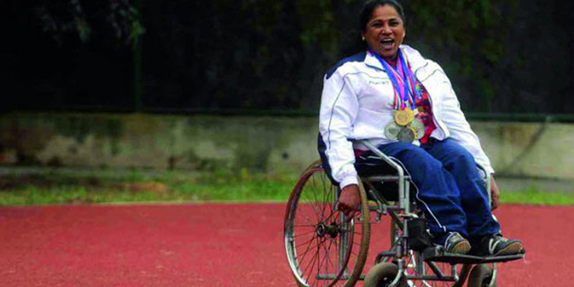 Dr Malathi K Holla-The disabled athlete who has won over 400 medals for India