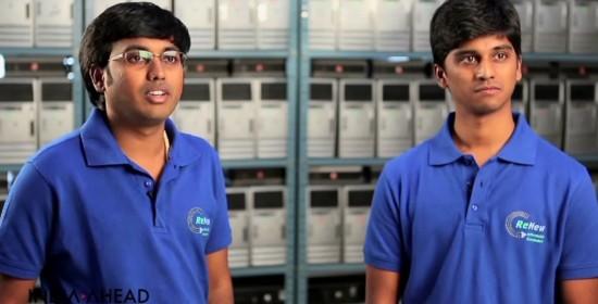 Mukund B S and Raghav Boggaram, Founders of Renew IT