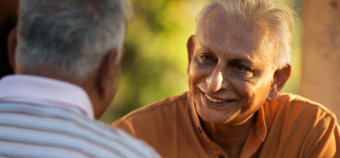 Sri M- Founder of Manav Ekta Mission